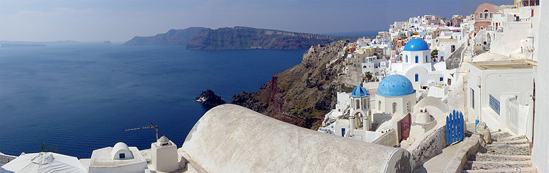 White Rooftops, Santorini, Greece
