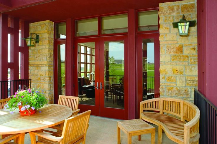 Finding the right patio door for you outswing french doors sidelights and transoms with capri style oil rubbed bronze french door hardware cinnamon toast exterior finish planetlyrics Gallery