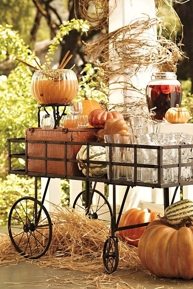 Decoration Ideas When It Comes To Decorating For An Outdoor Autumn Event You Have A Lot Of Natural Resources Your Advantage