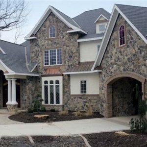 stone veneer - home exterior stone & veneer siding