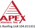 apex exteriors roofing siding windows gutters