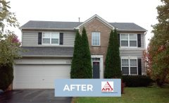 Before & After Roofing in Aurora IL